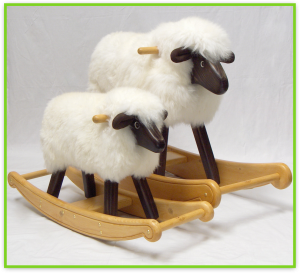 The Rocking Sheep Company: Gorgeous rocking sheep and rocking lambs