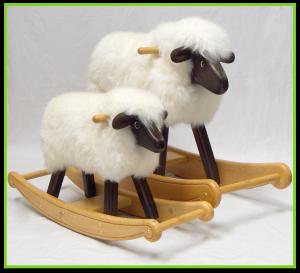 The Rocking Sheep Company: Gorgeous rocking sheep and rocking lambs