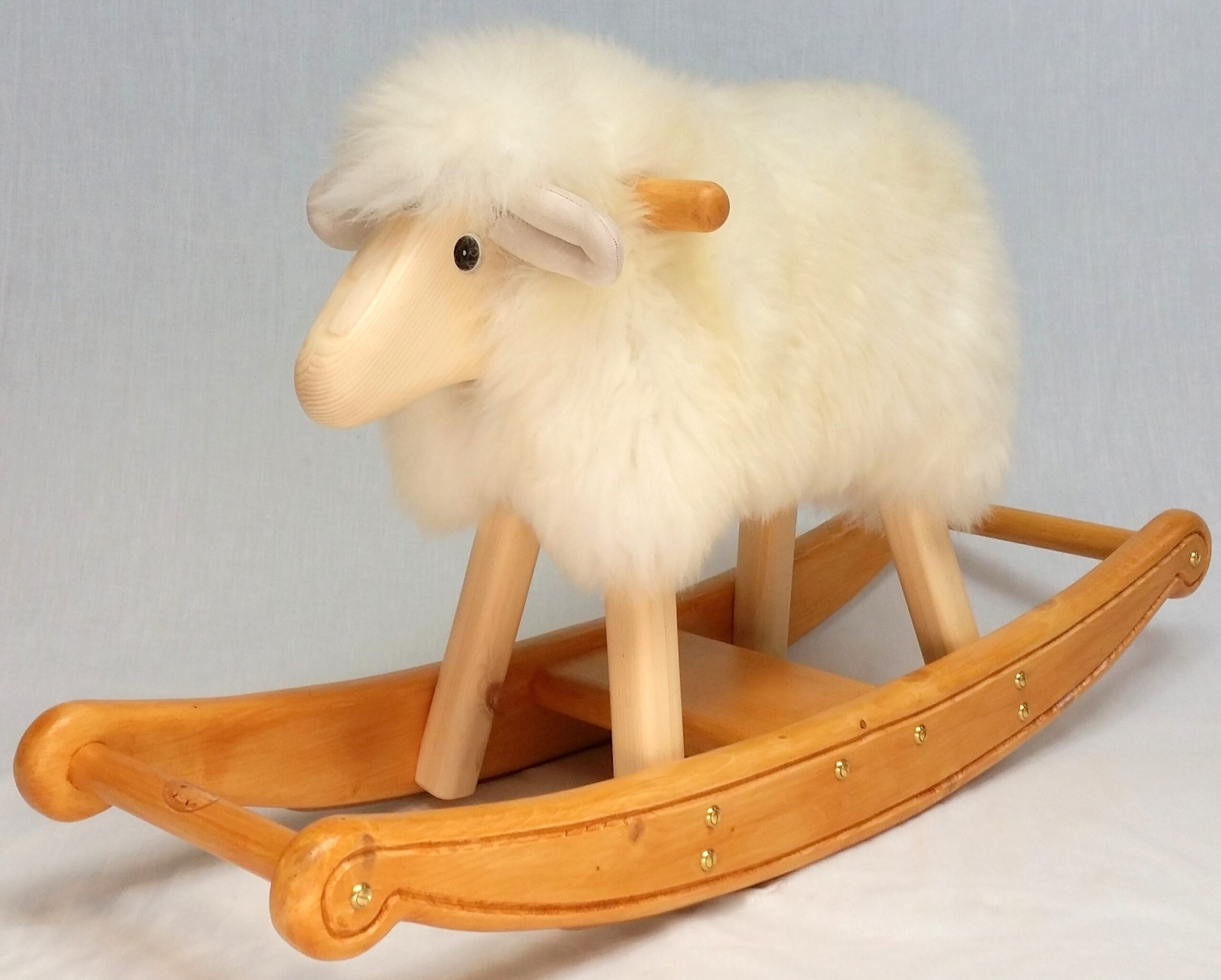 Stanley the rocking lamb
